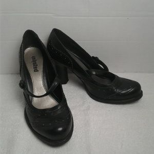 Unlisted Let's Roll Black Mary Jane Heels